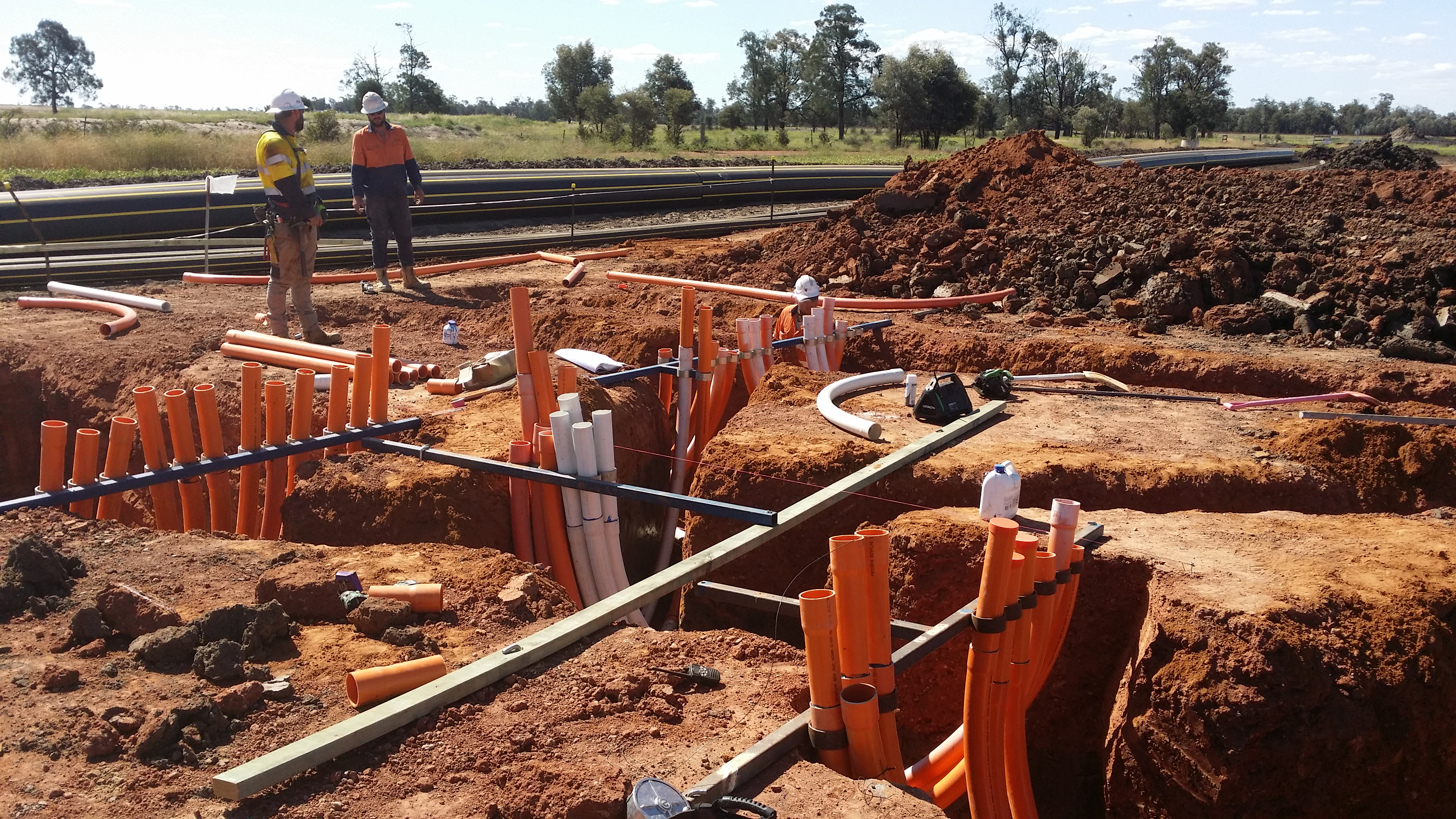 past projects - western downs civil